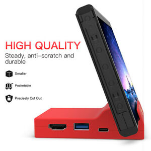 Nintendo Switch Portable Replacement Base Docking Station Mini Cover With Screws