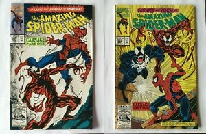 The Amazing Spider-Man #361 & #362 - 1st App of Carnage