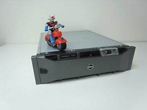 Dell EqualLogic PS6000 6 x100GB SSD 10 x450GB 15K SAS Dual Controller Tested