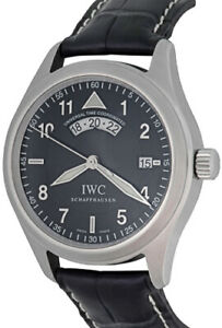 AWESOME IWC UTC WITH UNIVERSAL TIME COORDINATED 24 HOUR DISPLAY