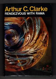 Rendezvous with Rama by Arthur C. Clarke (First Printing) Gollancz File Copy