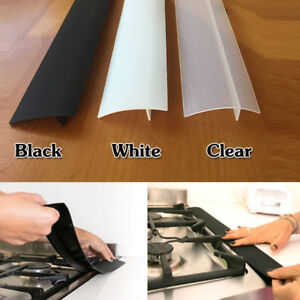 Silicone Kitchen Stove Counter Gap Cover Oven Guard Spill Seal Filler Healthy hi