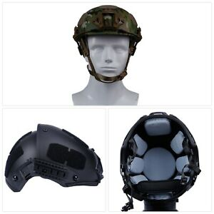 Military Tactical ABS Helmet Airsoft Gear Paintball Head Protector for Outdoor