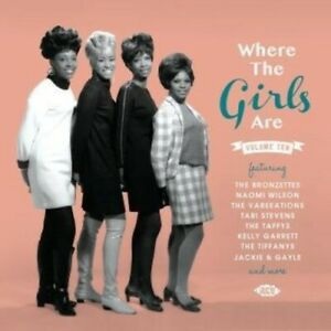 Various Artists - Where The Girls Are Vol 10 / Various [New CD] UK - Import