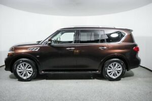2017 INFINITI QX80 AWD with Driver Assistance Package 2017 INFINITI QX80 AWD with Driver Assistance Package Mocha Almond SUV 5.6L 8 CY
