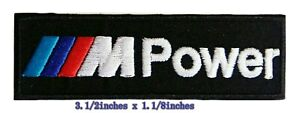 BMW Power Logo iron on sewing onPatch ondecorate on Fabric $2.19