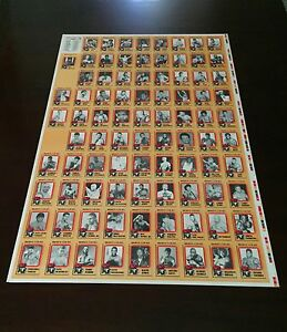 FLOYD MAYWEATHER JR - ROOKIE Sports Trading CARD 1997 BROWNS BOXING  UNCUT SHEET