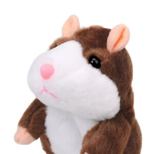 Adorable Mimicry Pet Speak Talking Record Hamster Mouse Plush Cute Toy for Kids