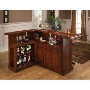 Hillsdale Classic Large Cherry Bar with Side Bar Cherry finish - 62578AXCHE