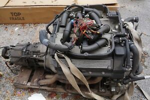 2003 BMW M5 ENGINE MOTOR TRANSMISSION OEM COMPLETE E39 #1