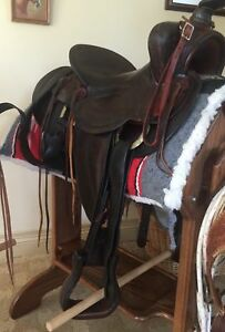 Highly Collectible Original Porter Saddle owned by Actor Dale Robertson's Wife