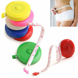 Retractable Ruler Tape Measure Body Measuring Tailors Sewing Tools 1.5M 60quot; $1.64