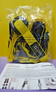Gymstuff G-STRAP Suspension Body Fitness Trainer Resistance (P221)