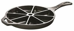 Cornbread Wedge Pan Cast Iron 9