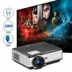 Multimedia LED Video Projector Home Theatre Game Xbox USB HDMI For Fire Stick TV