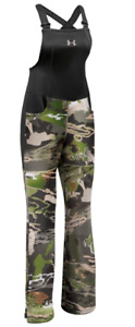 Under Armour Women's Mid Season Hunting Bib 1282692-944 Forest Camo NWT kw1