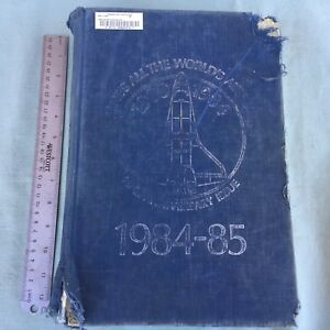 VINTAGE BOOK JANES ALL THE WORLD AIRCRAFT 1984-1985 MILITARY ARMY NAVY PLANES