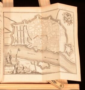 1700 Les Delices des Pais Bas Delights of the Netherlands Fold Out Illustrations