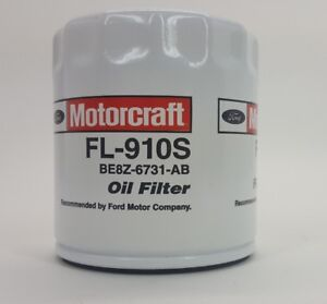 Motorcraft FL910S Engine Oil Filter Fleet Pack No Boxes