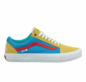 NEW Vans x Golf Wang Old Skool Pro yellow blue white low tyler creator flog gnaw