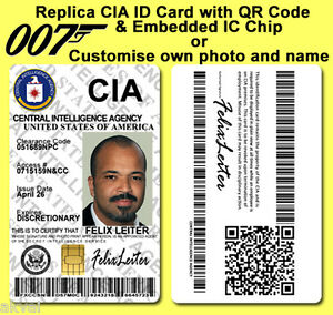 Cia Id Card For Sale