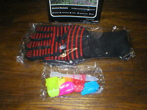 1 Pair Heat Resistant BBQ Oven Silicone Gloves New In Box FDA Approved Grill