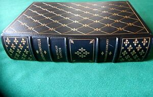 Vtg 1976 ANDERSONVILLE by MacKinlay Kantor Leather Franklin Library Ltd. ed. $24.95