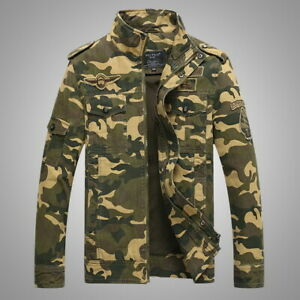 1 pcs New Army Military Tactical Camouflage Jacket for Men