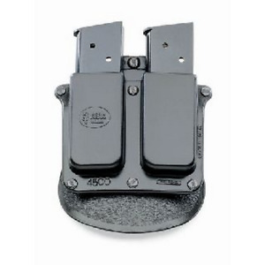 Fobus 4500Ndbh Single Stack Double Magazine Pouch Fits 1911 .45 Mags Black