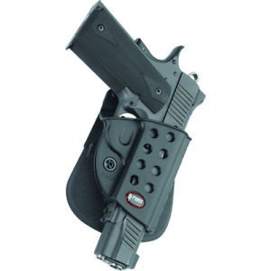 Fobus Paddle Holder Gun Fit: Colt 1911 WRail Hand: Right