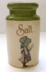 "VTG HOLLY HOBBIE ""COUNTRY LIVING"" SALT SHAKER (2 HOLES)"