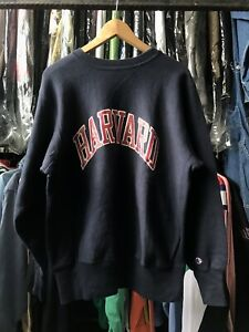 VINTAGE 70's CHAMPION HARVARD UNIVERSITY REVERSE WEAVE SWEATER SWEATSHIRT