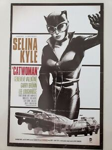 CATWOMAN #40 (2015) DC 52 COMICS BULLET MOVIE VARIANT COVER SPECIAL 1ST PRINT!