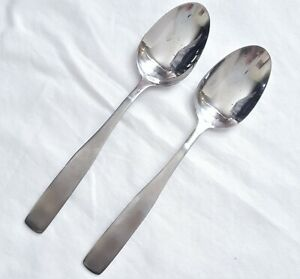 AMC Stainless Steel APOLLO 2 SERVING OR CASSEROLE SPOONS