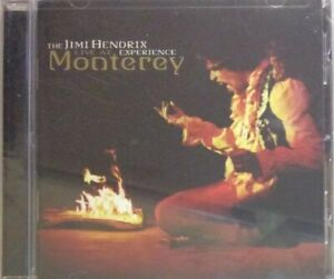 The JIMI HENDRIX Experience: LIVE IN MONTEREY (CD: 2014)