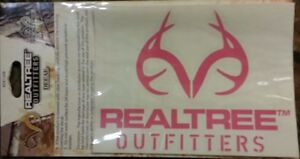 Realtree Decal Pink Hunting Decal Female Ladies Woman