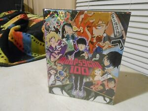 Mob Psycho 100: The Complete Series (Blu-rayDVD 2017 4-Disc Set Limited Edit