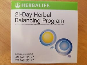 Herbalife 21 Day Herbal Balancing Program. AM PM Tablets. New & Sealed.