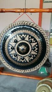 Gongs (Thai Gongs 150 cm 2 pieces Hand-made Handicrafts from Thailand)