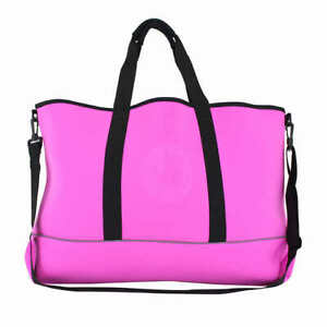 Body Glove High Tide Tote Large Weather Resistant Material Pink Bag $53.76