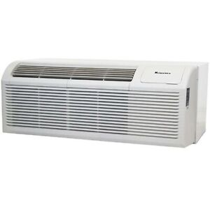 Klimaire 9000Btu 11.3 EER PTAC Air Conditioner 3Kw Electric Heater SLEEVE GRILL