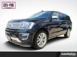 2019 Ford Expedition Platinum 2019 Ford Expedition Max Platinum Rear Wheel Drive 3.5L V6 24V Automatic 5 Miles