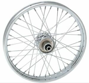 Drag Specialties Stock Replacement 40-Spoked Front Wheel 21X2 SD (0203-0410)