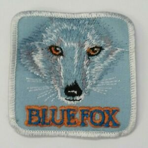 Blue Fox Lures Embroidered Patch Trolling Fish Bait Rod Angler Tackle 3