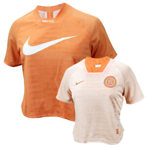Nike FC Dri-FIT Reversible Top (CI1515-882) Running Yoga Gym Women T-Shirt Tee