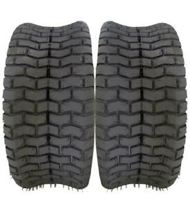 2* factory direct 16x6.50 8 Soft Turf Lawn Mower 4ply Tires warranty $62.33