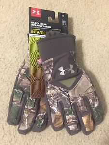 Under Armour Womens Cold Gear Infrared Realtree Gloves