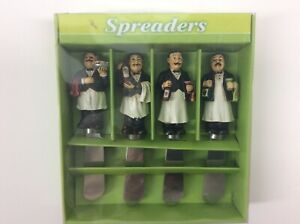 Supreme Housewares & Gifts Cheese Spreaders Set of 4 Waiters New