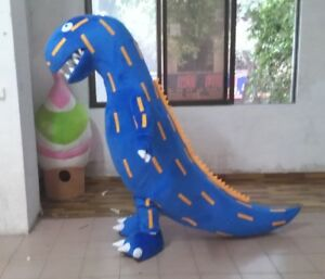 Cute High Quality T-Rex Dinosaur Mascot Costume In 3 Colours Unisex Adult Size A