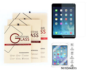 Premium Tempered Glass Screen Protector for iPad 2 3 4 Mini Air Pro 9.7 10.2 11